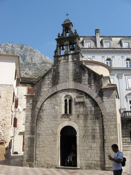 Церковь Св. Луки была построена в XII веке