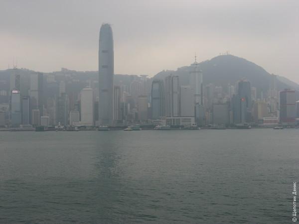 Вид на о-в Гонконг