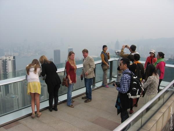 Смотровая площадка находится на крыше ТЦ