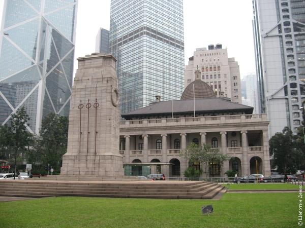 Ценотаф - монумент павшим в Первой и Второй мировых войнах