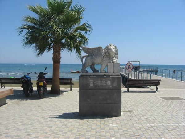 Крылатый лев - подарок от Венеции